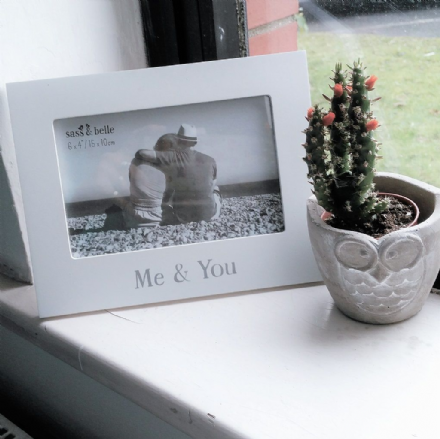 50% OFF ME & YOU PHOTO FRAME WHITE
